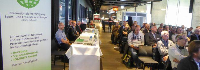 Referate IAKS-Seminar 2017: Beleuchtung und Akustik von Sportanlagen